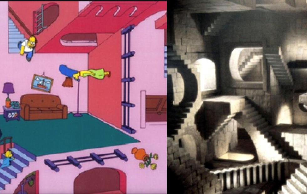 M.C. Escher, el hombre que  imaginaba mundos imposibles
