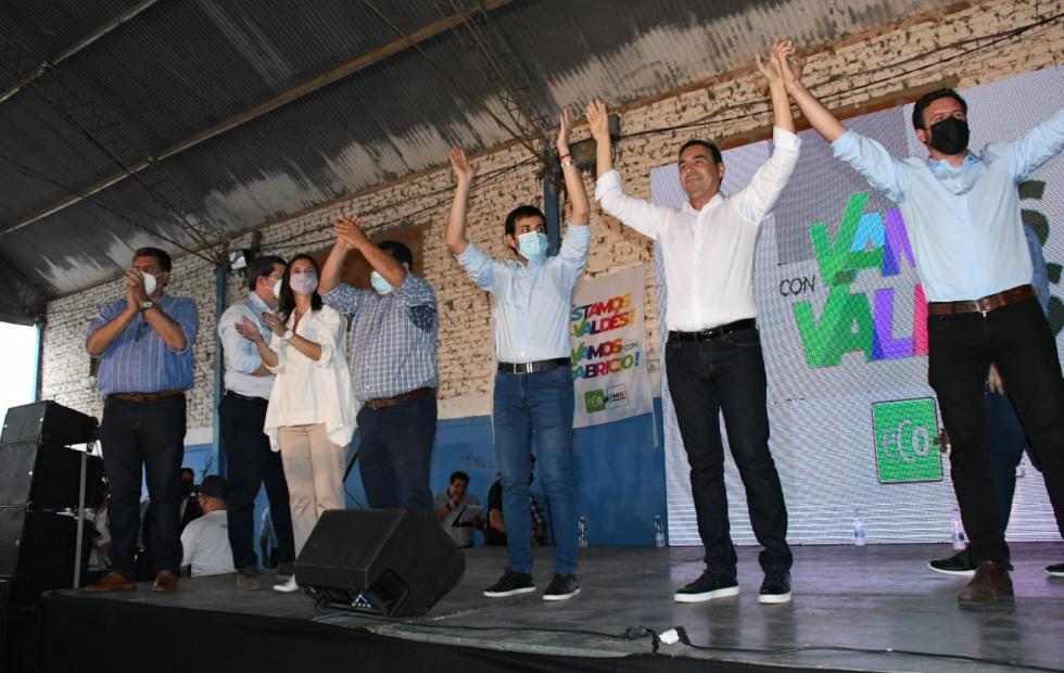 En Santa Lucía, el oficialismo provincial respaldó la fórmula Vargas-Ojeda