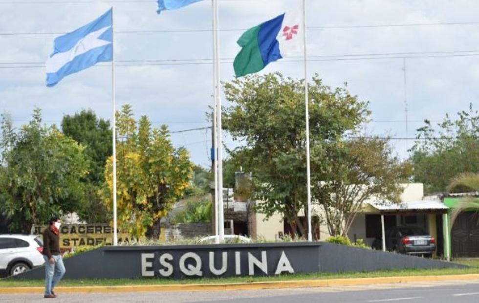 El Gobernador Gustavo Valdés inaugura obras en Esquina