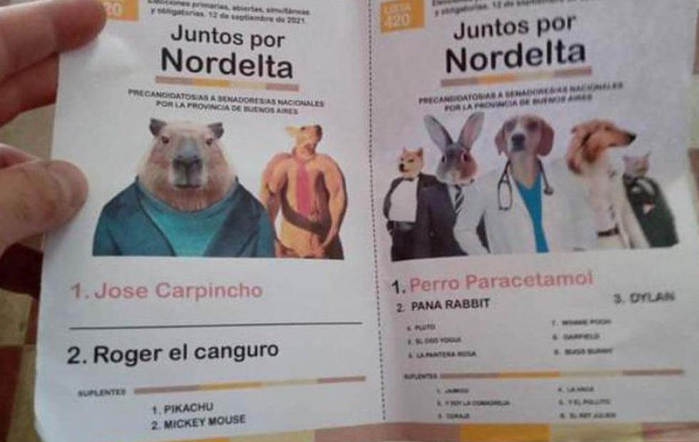 En una escuela, los carpinchos le ganaron a Moreno y Cinthia Fernández