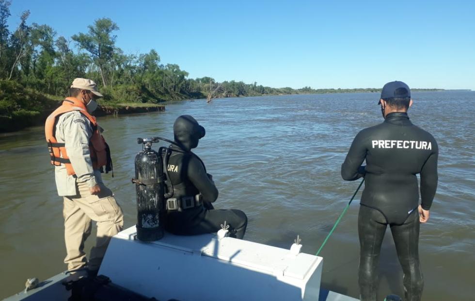 Hallaron los restos del segundo pescador que estaba desaparecido en el río Paraná