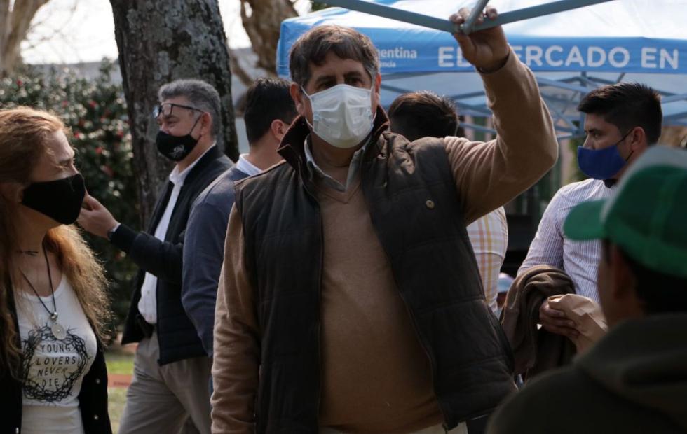 VIDEO| El intendente de Esquina tiene Coronavirus y el domingo participó de una caravana