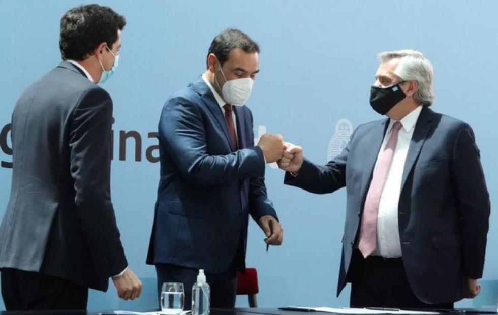 El presidente Alberto Fernández saludó a Gustavo Valdés por el triunfo en Corrientes