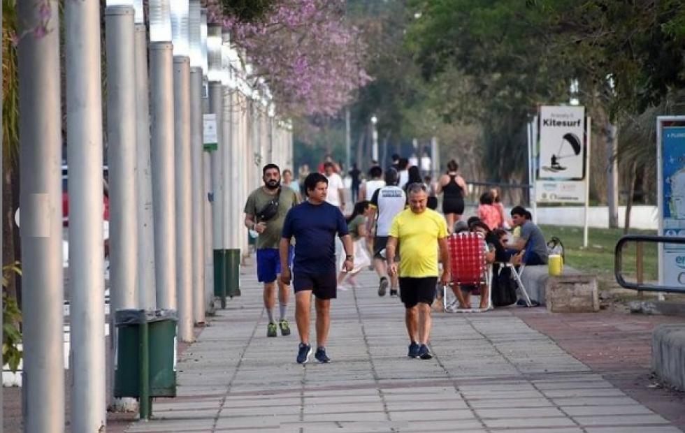 Agobiante calor en Corrientes: la térmica llegó a los 40º