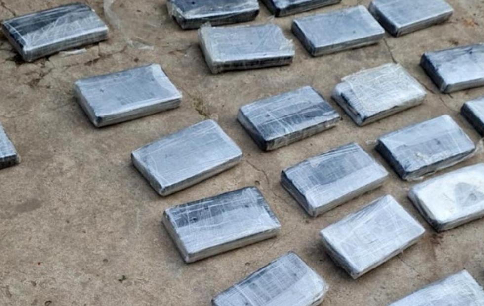 Detuvieron a un hombre con 33 kilos de cocaína