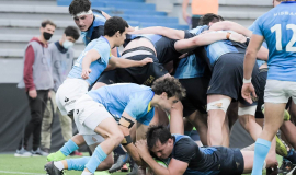 Con Gómez Vara como titular, Argentina XV cerró la gira venciendo a Uruguay